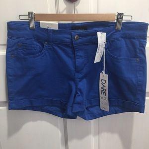 NEW! CELEBRITY PINK Shorts~Blue~11/30~FuN💕